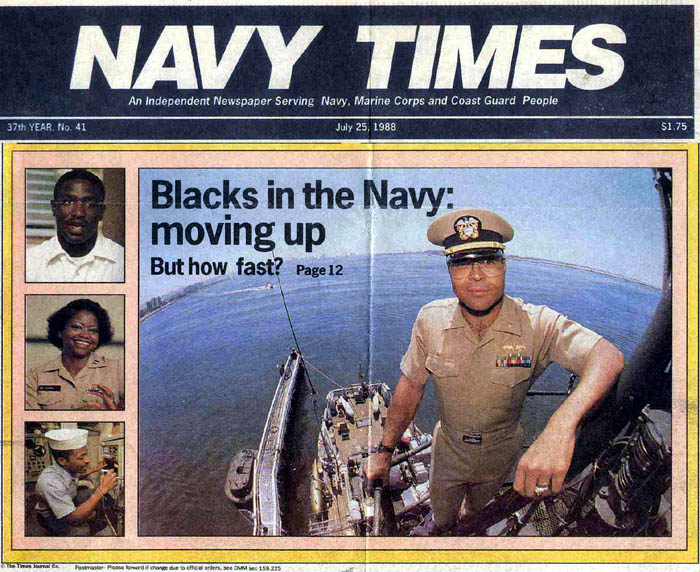 Navy Times Front Page